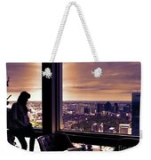 Girl With A View Weekender Tote Bag
