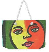 Girl With Necklace Weekender Tote Bag