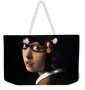 Girl With The Grad Cap Weekender Tote Bag