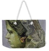 Girl With Yellow Earring Gwye2 Weekender Tote Bag