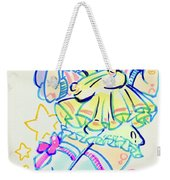 Girl04 Weekender Tote Bag