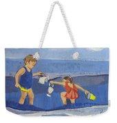 Girls On Beach Weekender Tote Bag