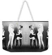Girls On The Wall Weekender Tote Bag