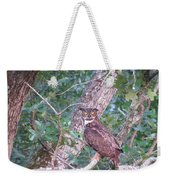 Give A Hoot Weekender Tote Bag