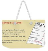 Give Card Weekender Tote Bag