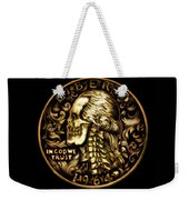 Give Me Liberty Or Give Me Death Weekender Tote Bag