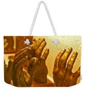 Give Them A Hand Weekender Tote Bag