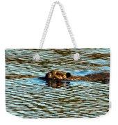 A Swim By Weekender Tote Bag