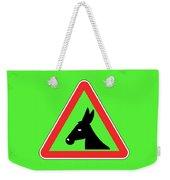 Giving Up Bigstock Donkey 171252860 Weekender Tote Bag