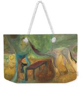 Good Knight Dragon Weekender Tote Bag