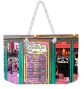 Glaces And Sorbets Berthillon Weekender Tote Bag