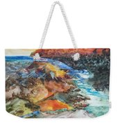 Glacial Meltdown Weekender Tote Bag