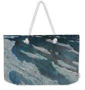 Glacial Moraine Weekender Tote Bag