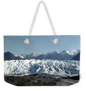 Glacial Terminus Weekender Tote Bag