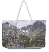 Glaciated Valley Weekender Tote Bag