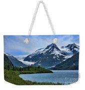 Glacier Alaska Lake  Weekender Tote Bag