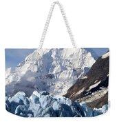 Glacier Bay Alaska Photograph Weekender Tote Bag