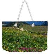 Glacier Blooms Weekender Tote Bag