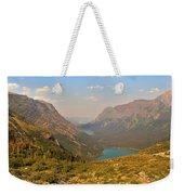 Glacier Chain Of Lakes Weekender Tote Bag