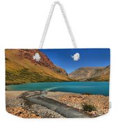 Glacier Cracker Lake Weekender Tote Bag