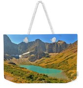 Glacier Cracker Lake Panorama Weekender Tote Bag