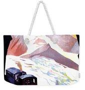 Glacier De Bionnassay, Railway, France Weekender Tote Bag
