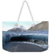 Iceland - Glacier Ice Cave 'entrance' #1 Weekender Tote Bag