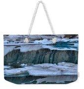 Glacier Iceberg Panorama Weekender Tote Bag