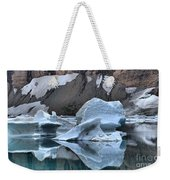 Glacier Iceberg Reflections Weekender Tote Bag