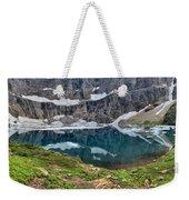 Glacier Icebergs Weekender Tote Bag