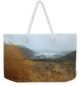 Glacier In The Distance Weekender Tote Bag