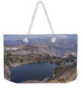 Glacier Lake 3 Weekender Tote Bag