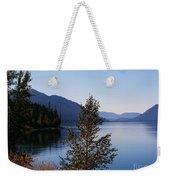 Glacier Lake Weekender Tote Bag