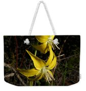 Glacier Lily 2 Weekender Tote Bag