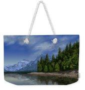 Glacier Naional Park Weekender Tote Bag
