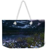 Glacier National Park At Dawn Weekender Tote Bag
