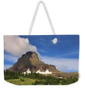 Glacier National Park At Logan Pass Weekender Tote Bag