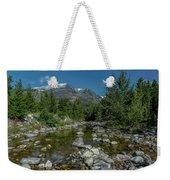 Glacier National Park-st Mary's River Weekender Tote Bag