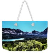 Glacier National Park Views Panorama No. 01 Weekender Tote Bag