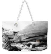 Glacier Nude Weekender Tote Bag by Wayne King