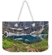 Glacier Paradise Weekender Tote Bag