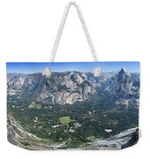 Glacier Point Panorama - Yosemite Valley Weekender Tote Bag