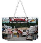 Ketchikan Alaska's First City  Weekender Tote Bag