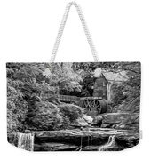 Glade Creek Grist Mill 3 - Paint 2 Bw Weekender Tote Bag