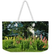 Gladiolus Weekender Tote Bag