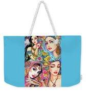 Glamorous India Weekender Tote Bag