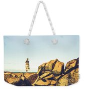 Glamour In Untouched Paradise Weekender Tote Bag