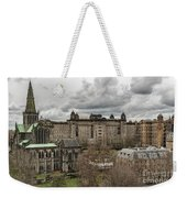 Glasgow Cathedral And Victoria Infirmary Weekender Tote Bag