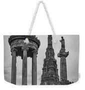 Glasgow Necropolis Graveyard Memorials Weekender Tote Bag
