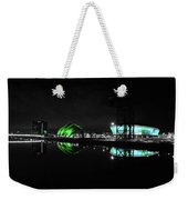 Glasgow Riverside Weekender Tote Bag